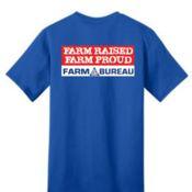 Farm Raised Farm Proud T-Shirt