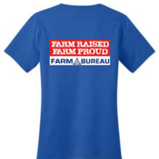 Ladies' Farm Raised Farm Proud T-Shirt